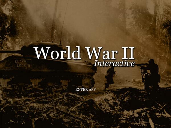 World War II Interactive For iPad App